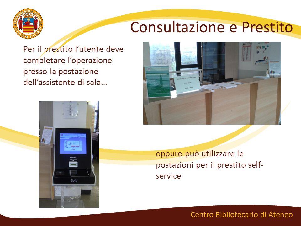 Banche dati e periodici elettronici Centro Bibliotecario di Ateneo Le banche dati sono collezioni di documenti digitali consultabili da remoto.