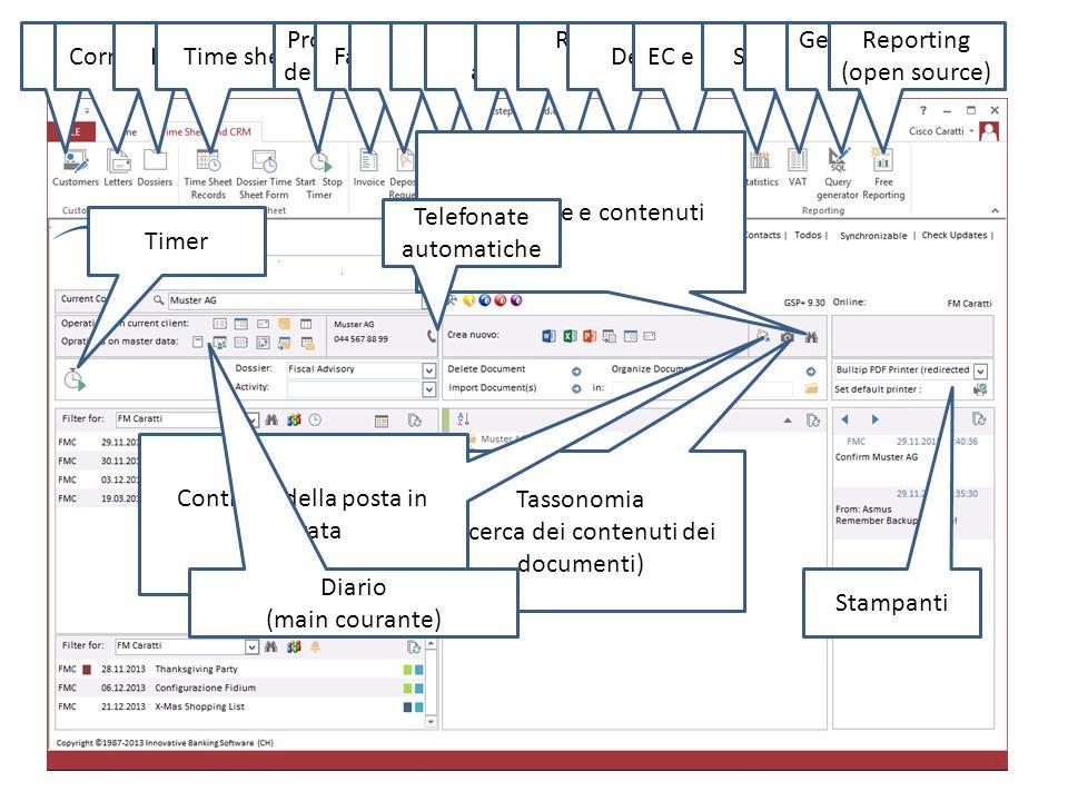 Sicurezza integrata Multi- mandante OpzioniMultilinguale Contabilità integrata Screencast di aiuto Controllo configurazione Forum clienti Logo Mandant