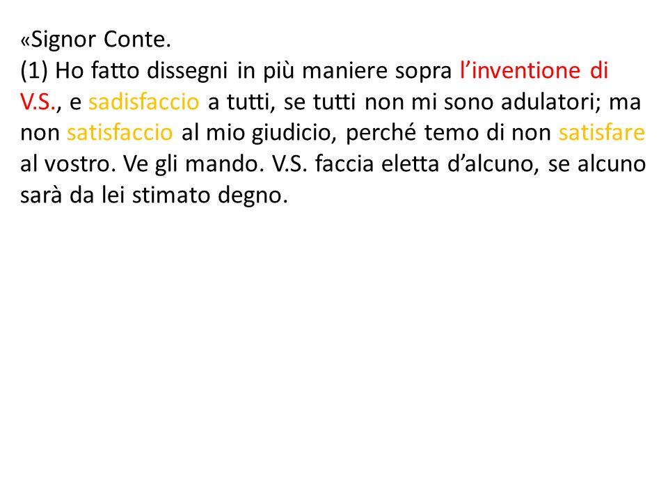 « Signor Conte.