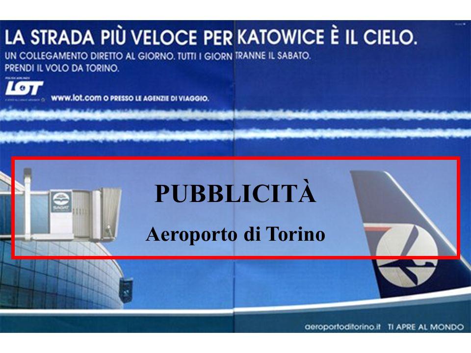 PUBBLICITÀ Aeroporto di Torino