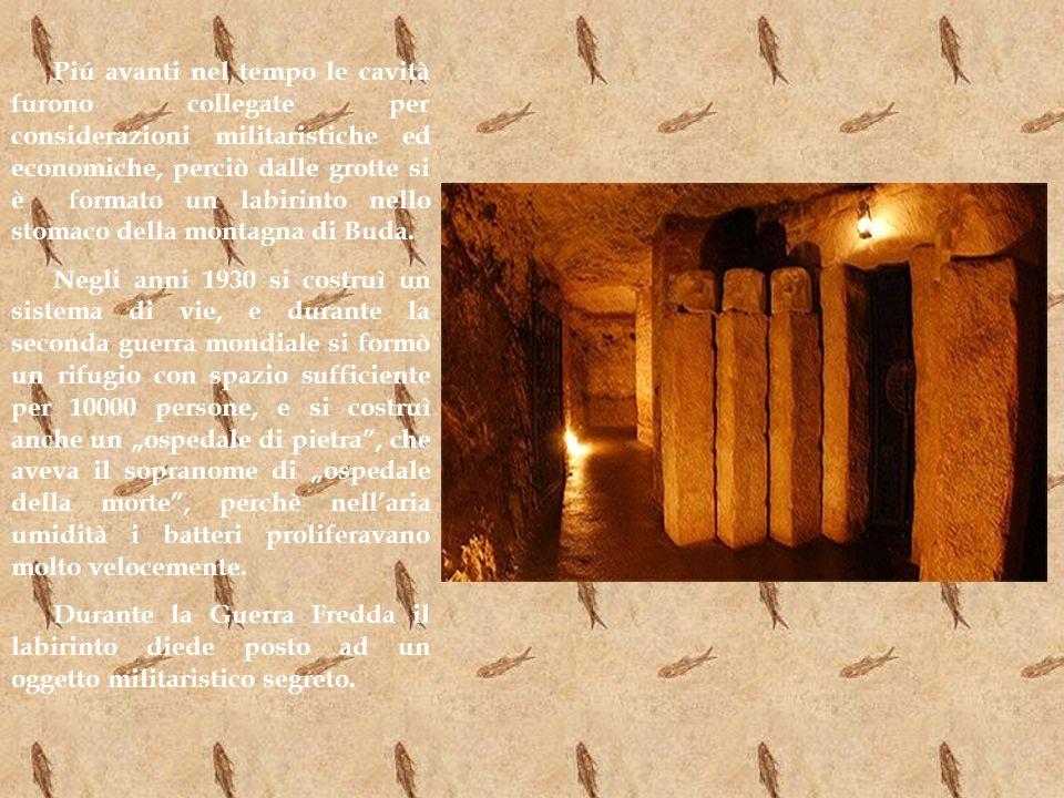Oggigiorno qualche parte del labirinto è aperta per i turisti, con un museo di grotta, unosteria e molti programmi interessanti.