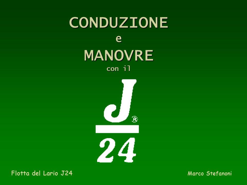 CONDUZIONE e MANOVRE con il …………………………………. Flotta del Lario J24 Marco Stefanoni