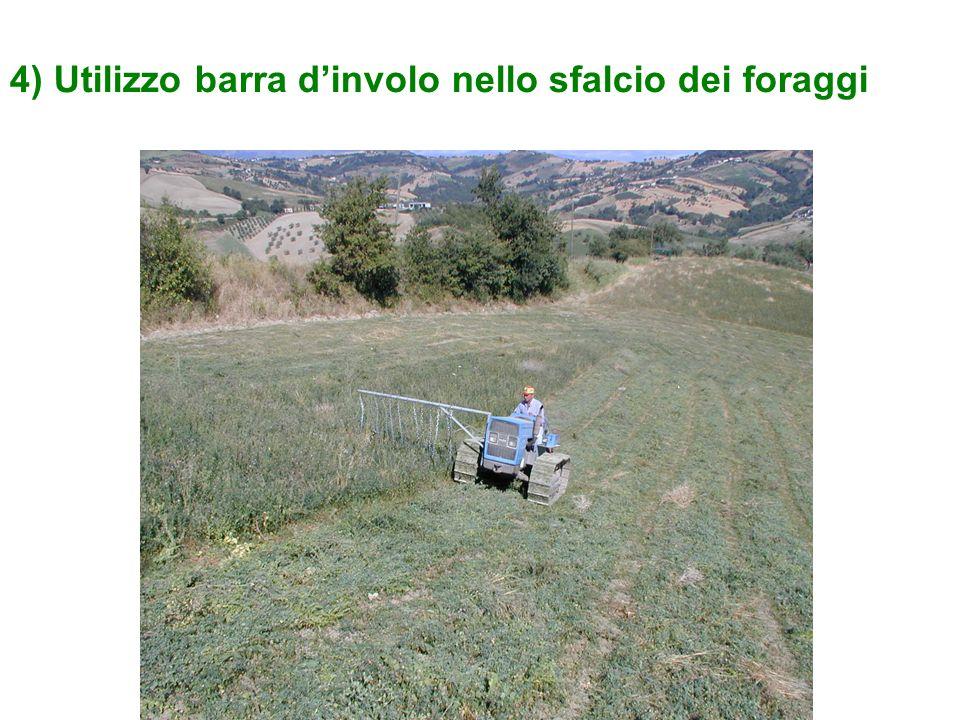 4) Utilizzo barra dinvolo nello sfalcio dei foraggi