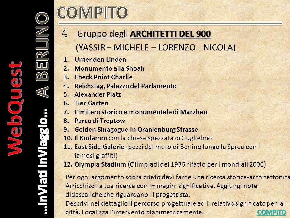 ARCHITETTI CONTEMPORANEI 5.
