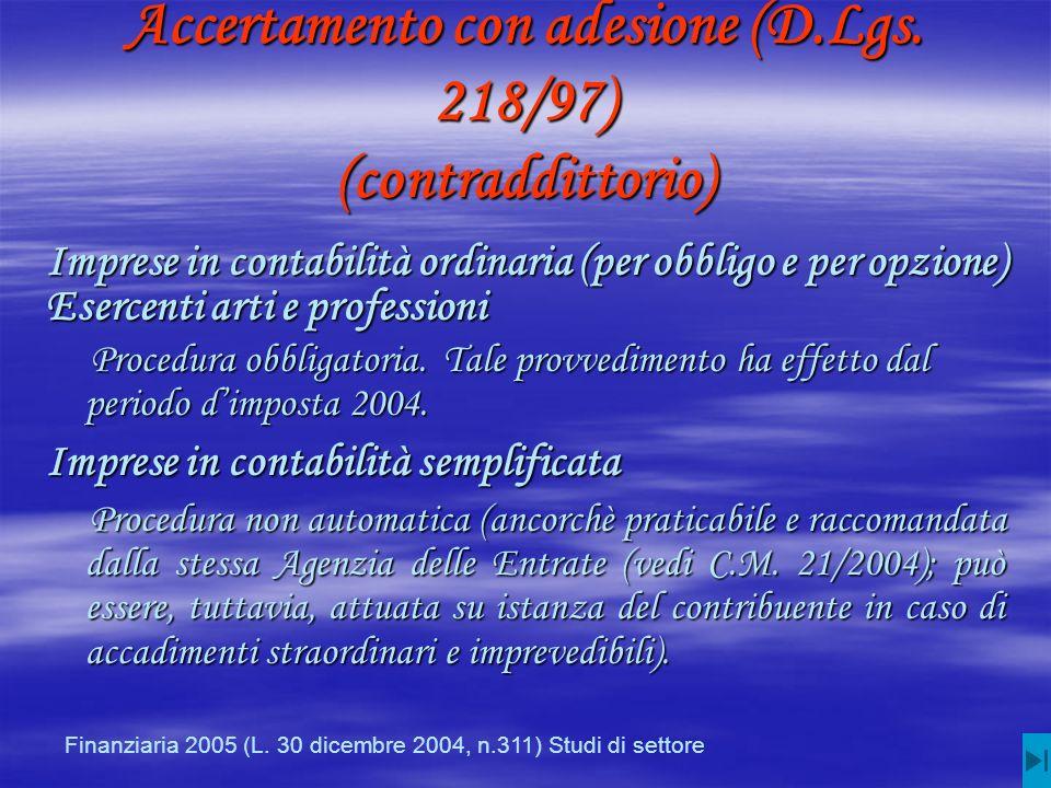 Accertamento con adesione (D.Lgs.