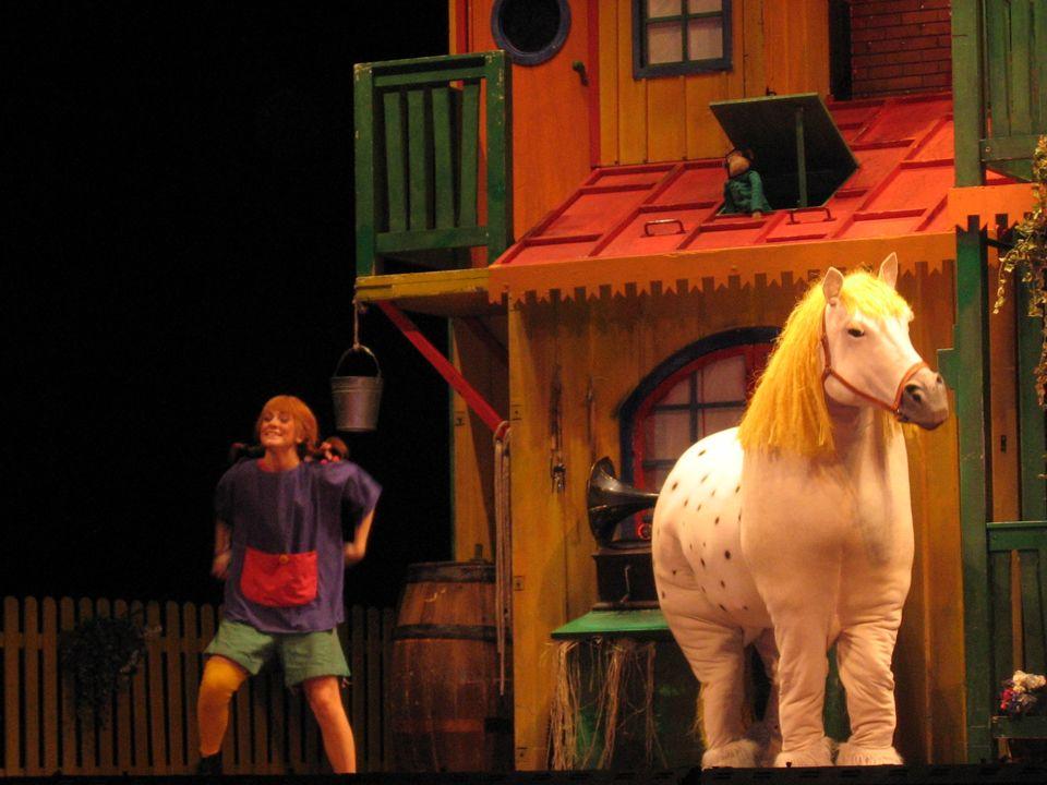 Lo spettacolo era simpatico e divertente; delle scene facevano morire dal ridere.
