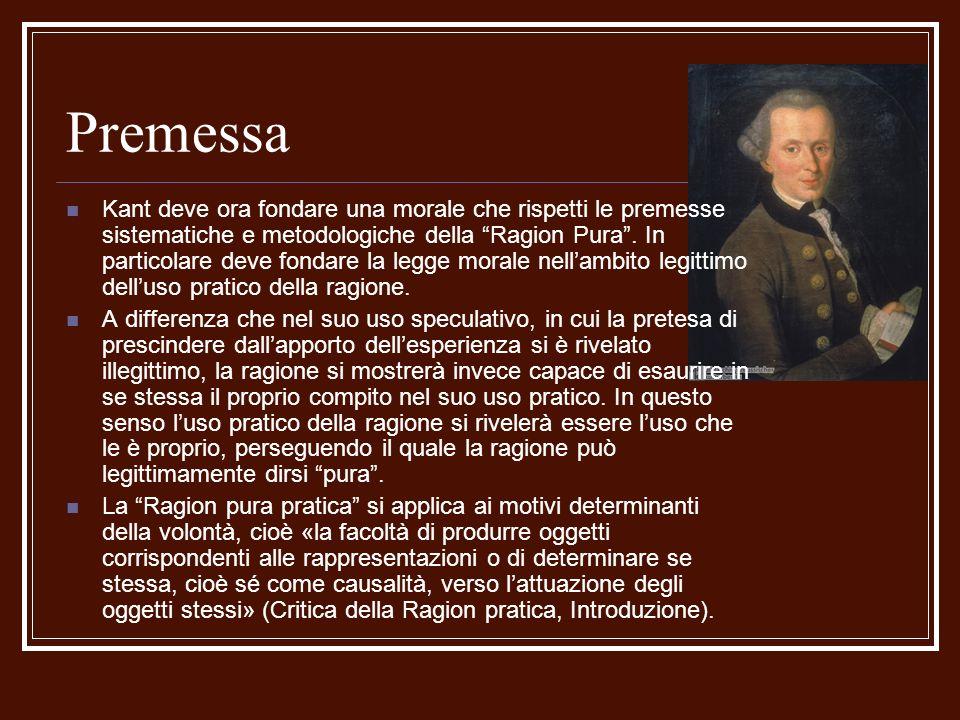 Dottrina degli elementi/1 Analitica Lautonomia della volontà/1 Il concetto di autonomia è fondamentale in Kant.