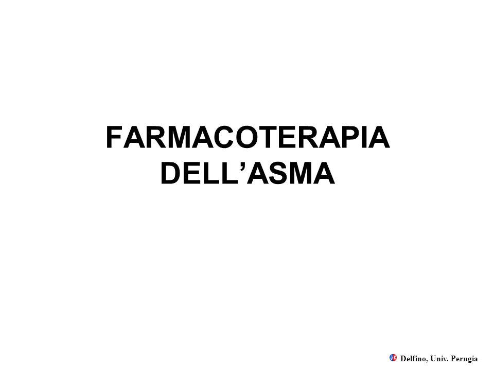 FARMACOTERAPIA DELLASMA Delfino, Univ. Perugia