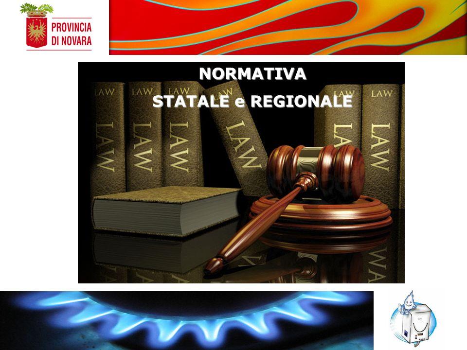 NORMATIVA STATALE e REGIONALE