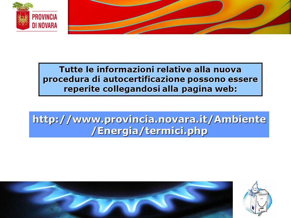 Corso Cavallotti, 31 28100 – NOVARA E-mail c.negrelli@provincia.novara.it GRAZIE PER LATTENZIONE SETTORE AMBIENTE ECOLOGIA ENERGIA Ufficio Programmazione Ambientale
