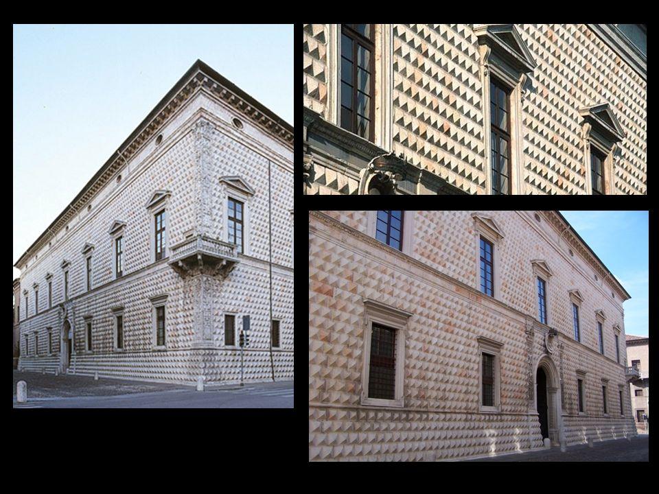 CRONISTORIA 1494 : Alcuni documenti attestano che i lavori di costruzione del palazzo, progettato da Biagio Rossetti, sono già iniziati.