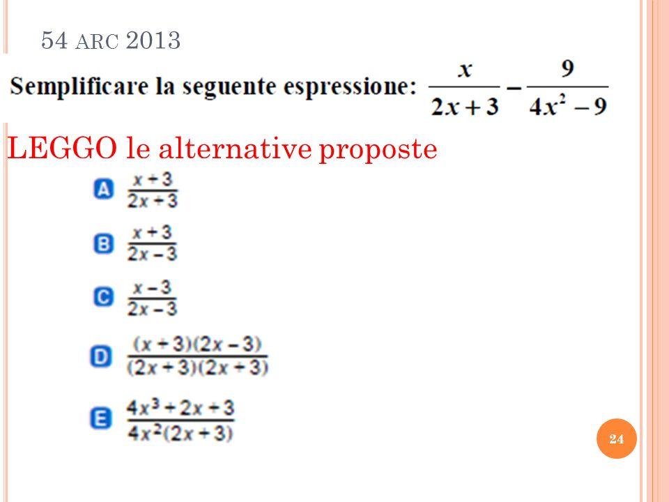 54 ARC 2013 24 LEGGO le alternative proposte