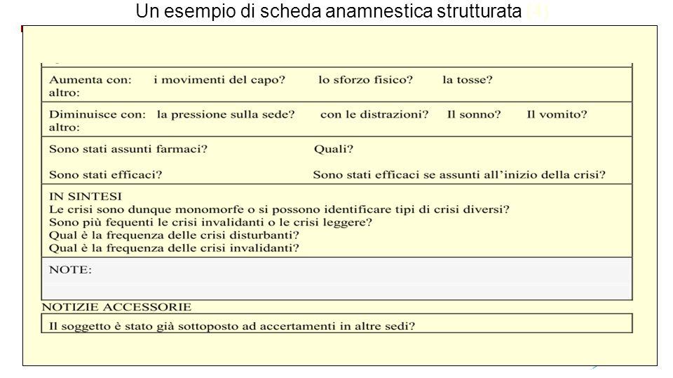Un esempio di scheda anamnestica strutturata (4)