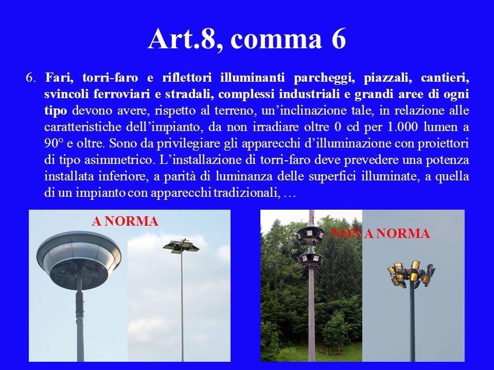 Art.8, comma 6 6.