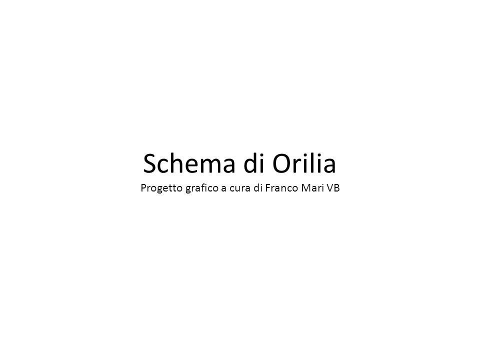 Schema di Orilia Progetto grafico a cura di Franco Mari VB