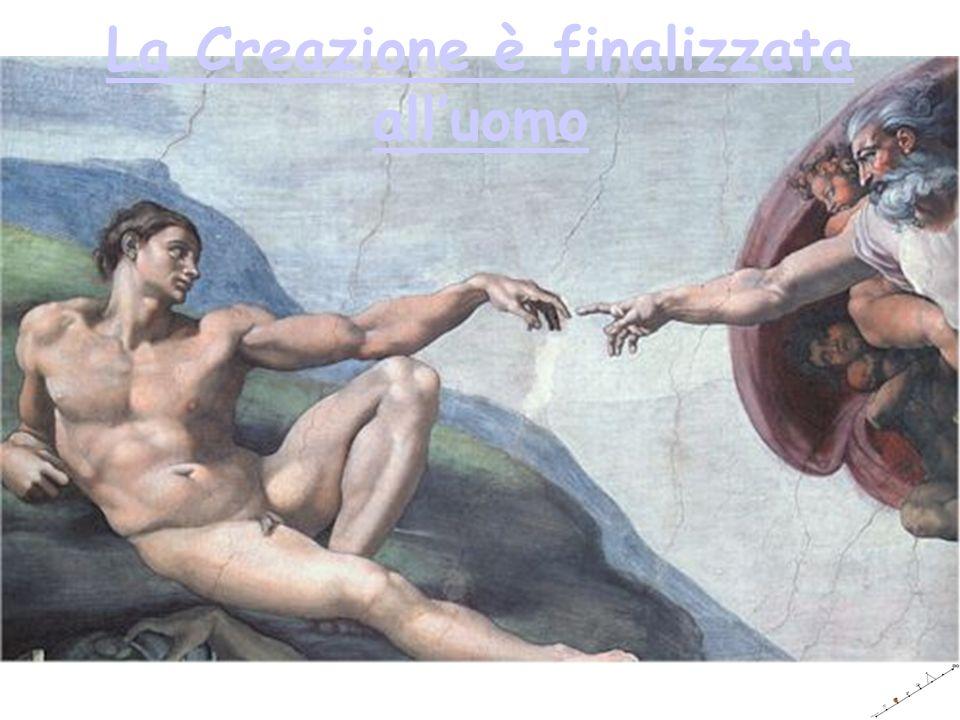 La Creazione è finalizzata alluomo