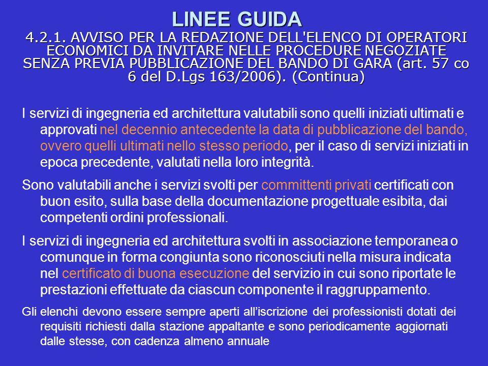 LINEE GUIDA 4.2.1.