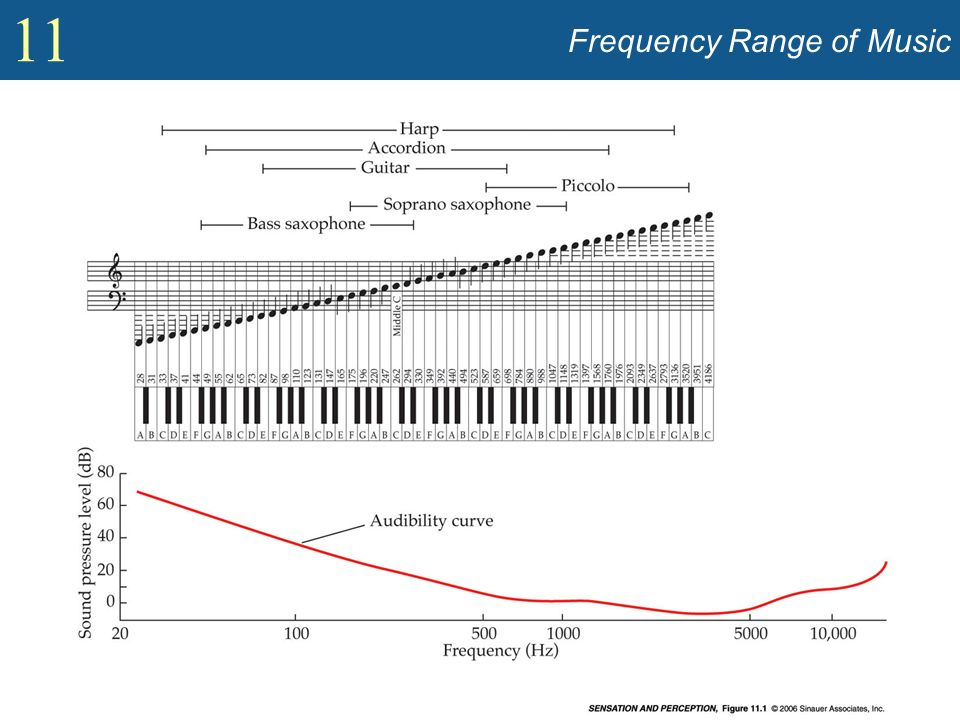 11 Frequency Range of Music