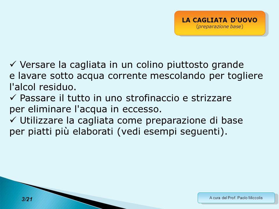 A cura del Prof.Paolo Miccolis 14/21 La scienza che ci sta dietro...