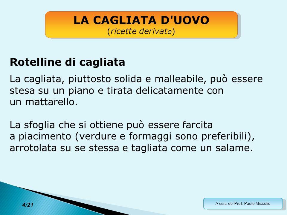 A cura del Prof.Paolo Miccolis 15/21 La scienza che ci sta dietro...