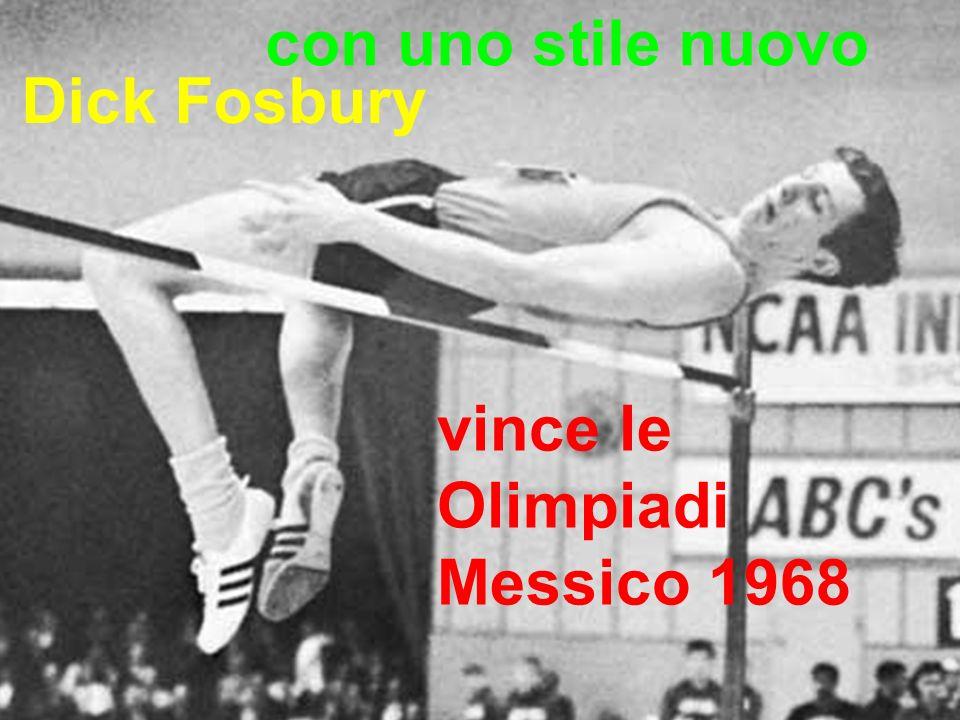Pioltello 2011 Dick Fosbury vince le Olimpiadi Messico 1968 con uno stile nuovo