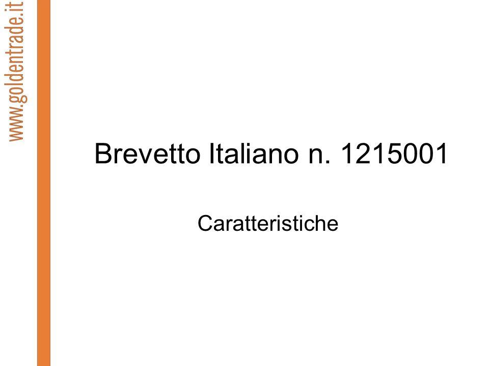 Brevetto Italiano n. 1215001 Caratteristiche