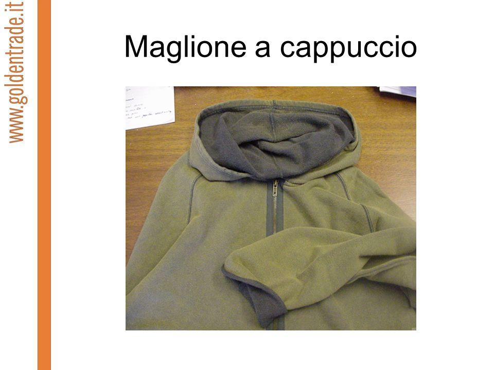 Maglione a cappuccio