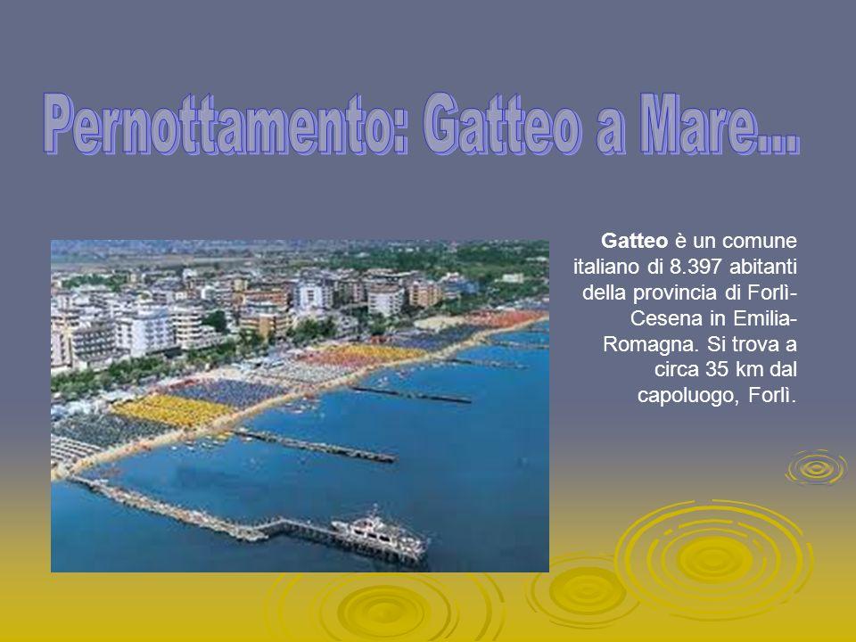 Gatteo è un comune italiano di 8.397 abitanti della provincia di Forlì- Cesena in Emilia- Romagna. Si trova a circa 35 km dal capoluogo, Forlì.