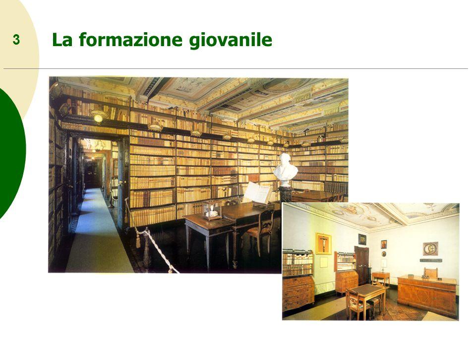 24 La composizione dei Canti 1831 La prima edizione dei Canti di Giacomo Leopardi uscì a Firenze nel 1831, stampata dalleditore Piatti.