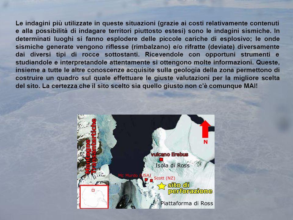 Le indagini più utilizzate in queste situazioni (grazie ai costi relativamente contenuti e alla possibilità di indagare territori piuttosto estesi) sono le indagini sismiche.