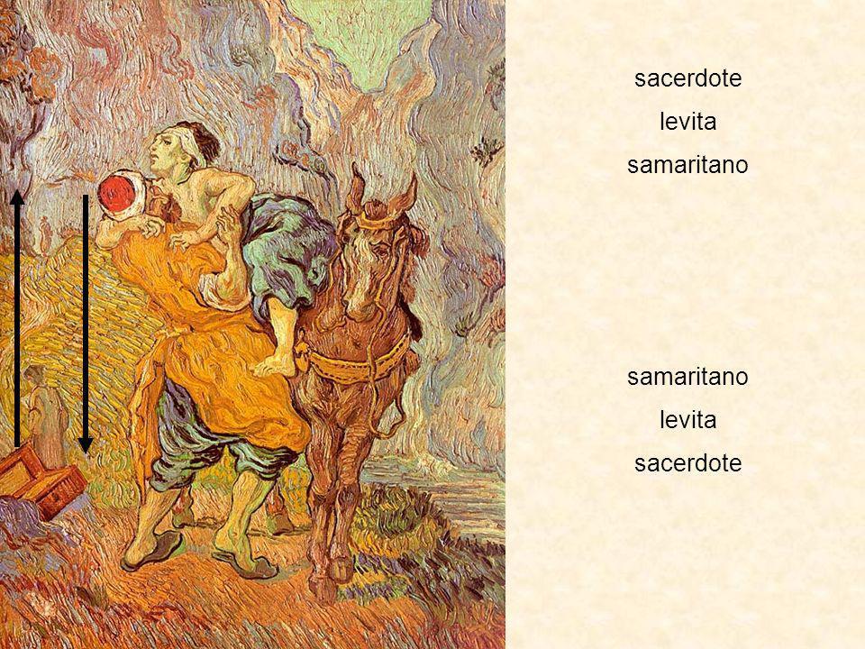 sacerdote levita samaritano levita sacerdote