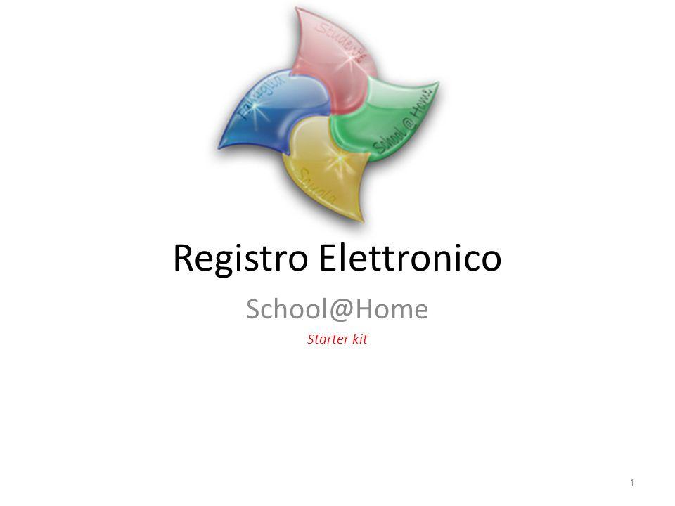 Registro Elettronico School@Home Starter kit 1