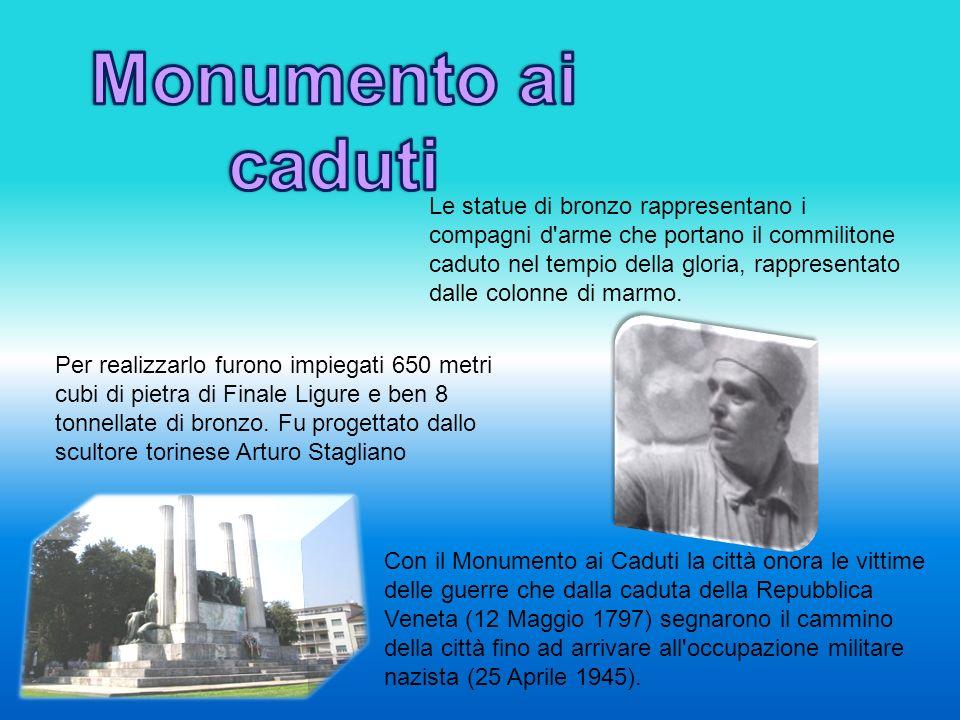 Piazza della Vittoria a Treviso fu intitolata così nel 1932 quando venne inaugurato il Monumento ai Caduti delle guerre.