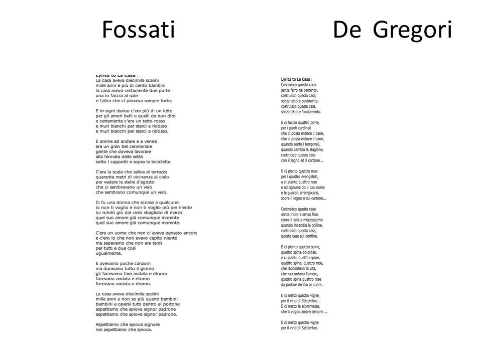 Fossati De Gregori