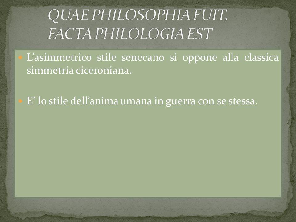 Ma poi Agostino continua come Seneca non avrebbe mai continuato: Et si tuam naturam mutabilem inveneris, transcende et te ipsum.