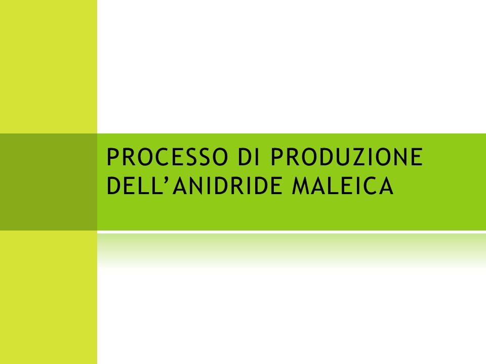 Lanidride maleica (C 4 H 2 O 3 ) è un prodotto chimico intermedio versatile usato per produrre resine poliestere insature, oli lubrificanti e altri vari prodotti.