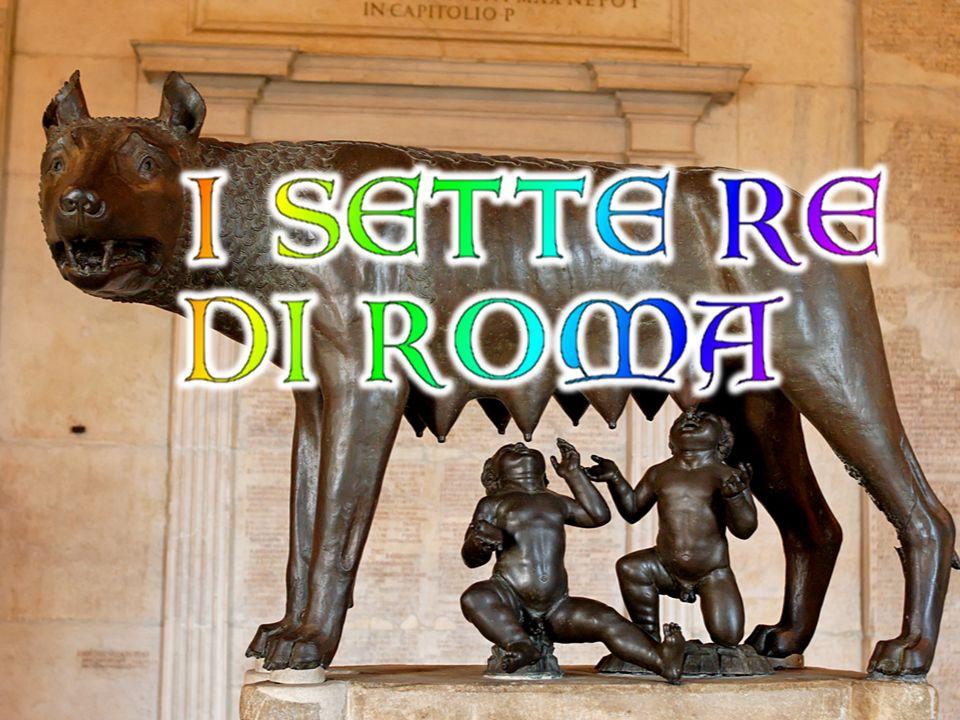 Romolo fu il primo re di Roma e fondatore della città.