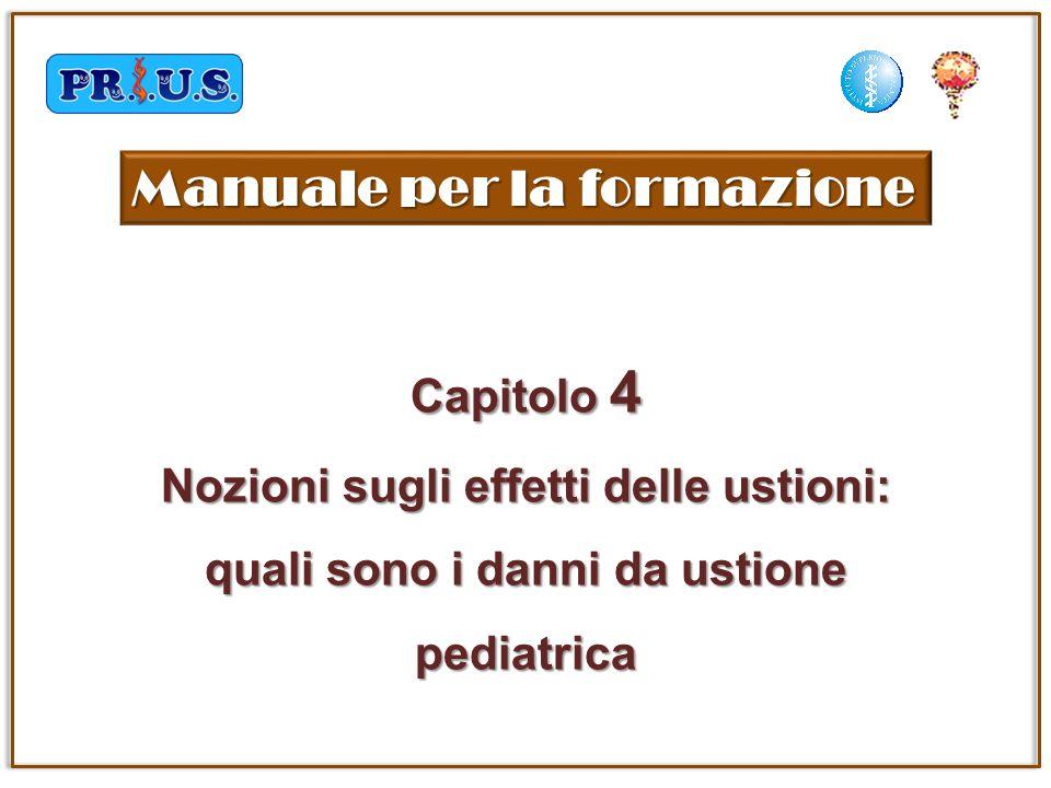 Capitolo 4 Nozioni sugli effetti delle ustioni: quali sono i danni da ustione pediatrica Manuale per la formazione