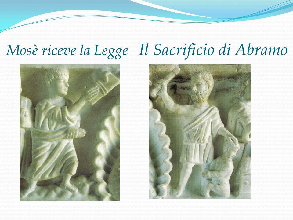 Mosè riceve la Legge Il Sacrificio di Abramo
