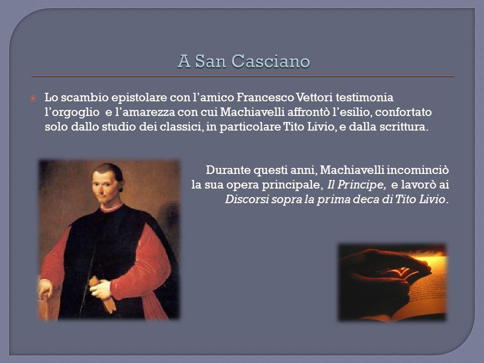 Sotto la forma del commento ai primi dieci libri dellAb urbe condita di Tito Livio Machiavelli conduce una profonda riflessione sulle forme di governo contemporanee sulla base della storiografia classica.