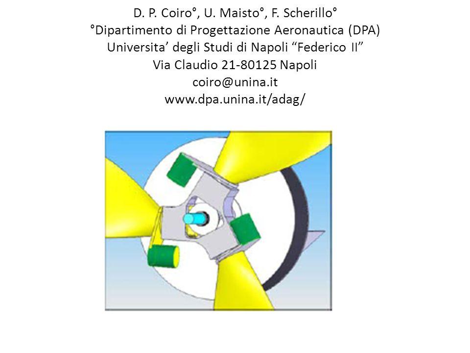 D. P. Coiro°, U. Maisto°, F. Scherillo° °Dipartimento di Progettazione Aeronautica (DPA) Universita degli Studi di Napoli Federico II Via Claudio 21-8
