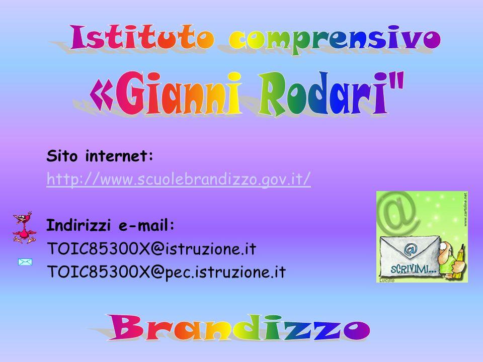 Sito internet: http://www.scuolebrandizzo.gov.it/ Indirizzi e-mail: TOIC85300X@istruzione.it TOIC85300X@pec.istruzione.it