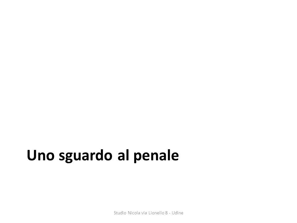 Uno sguardo al penale Studio Nicola via Lionello 8 - Udine