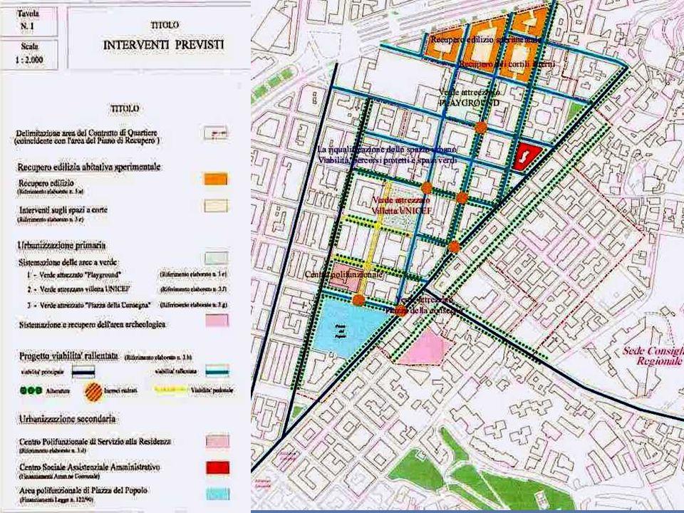 I CONTRATTI DI QUARTIERE La partecipazione prevista dal Contratto di Quartiere è finalizzata a: favorire una crescita del progetto medesimo attraverso