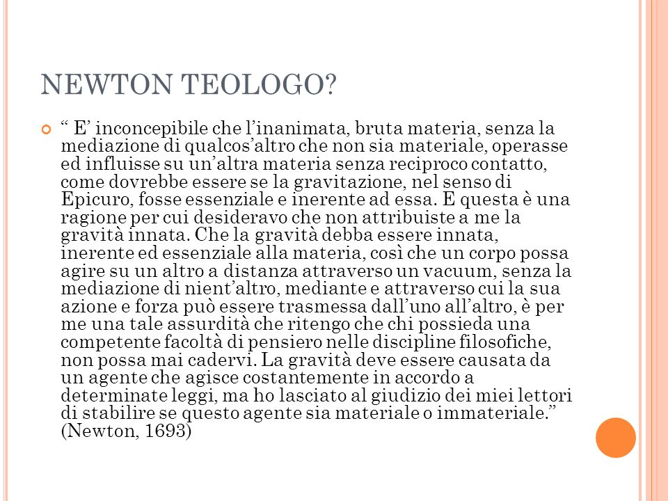 NEWTON CARTESIANO.Questione 21.