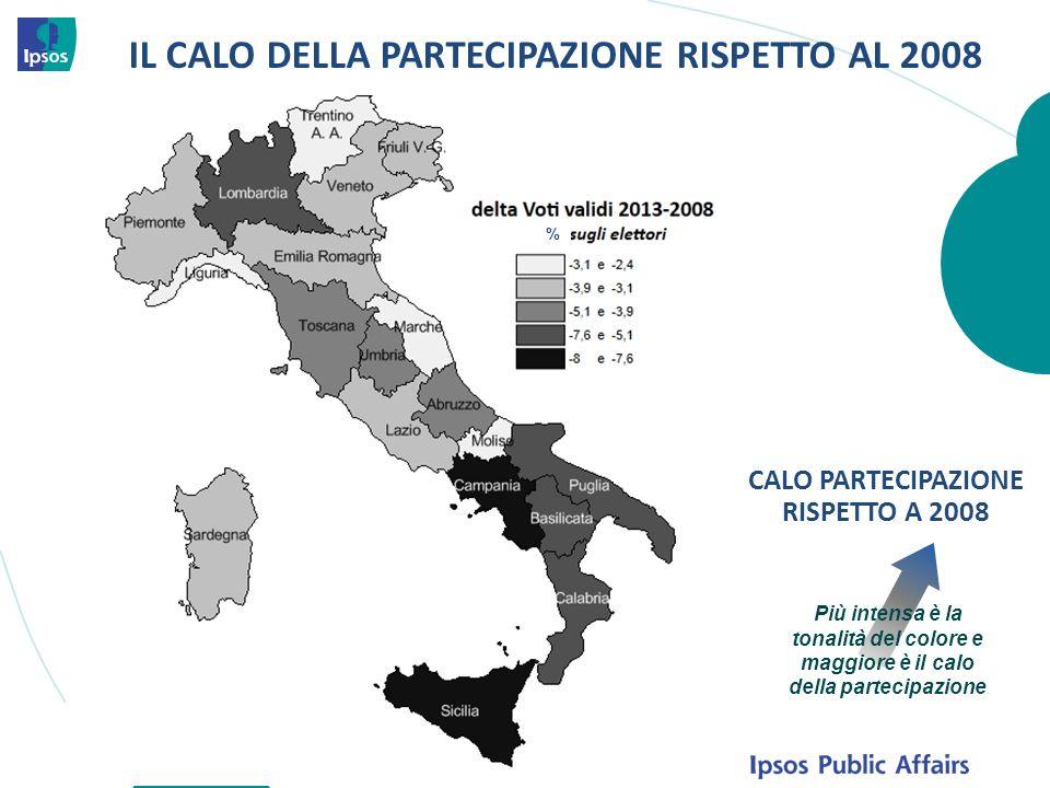 45 Il crollo del 2012 Fonte: Istat Imprese non finanziarie