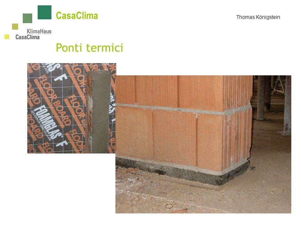 CasaClima Thomas Königstein Ponti termici