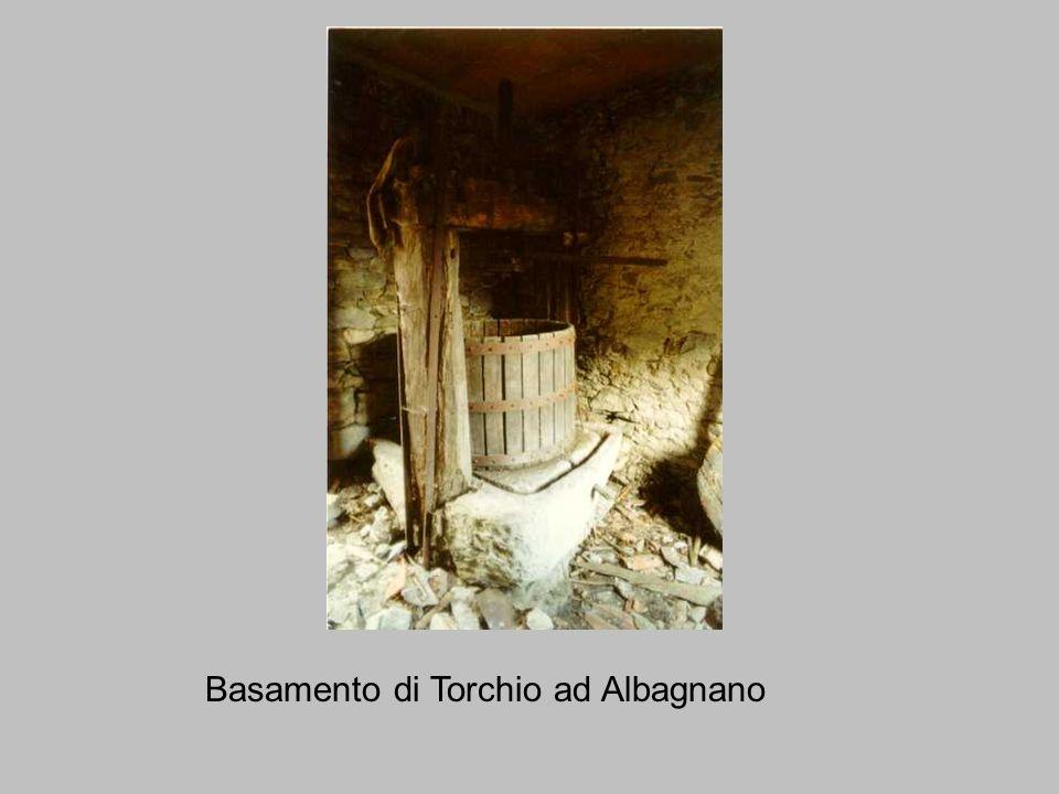 Basamento di Torchio ad Albagnano