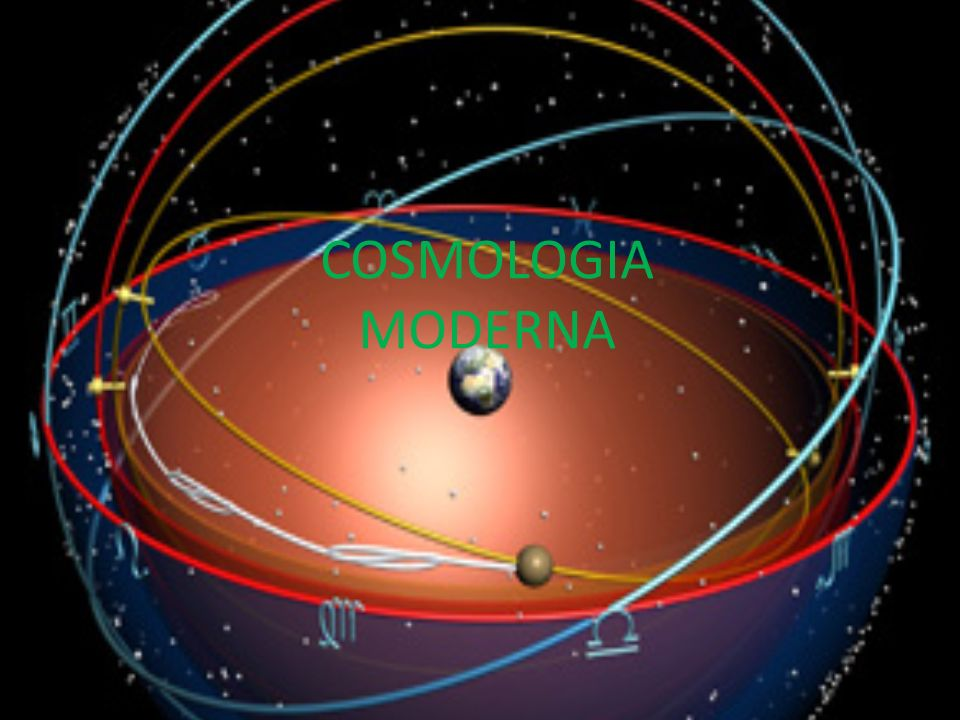 COSMOLOGIA MODERNA