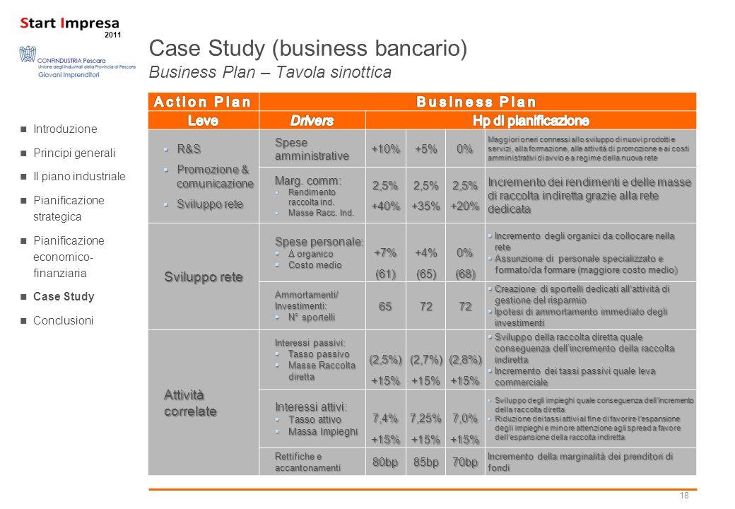 18 2011 R&S R&S Promozione & comunicazione Promozione & comunicazione Sviluppo rete Sviluppo rete Spese amministrative +10%+5%0% Maggiori oneri connes
